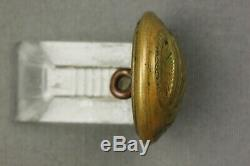 Civil War Georgia State Seal Coat Button Horstmann & Allien NY Bkmk