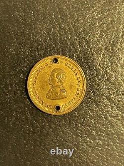 Civil War ID Tag, 10th New York Cavalry. Rare Small Size, Gettysburg Regt