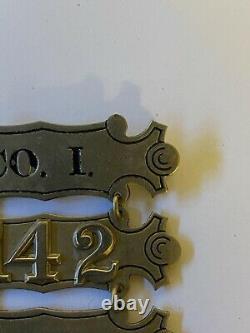 Civil War Ladder Badge 142nd New York Volunteer Infantry Especially Nice