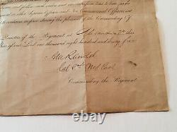 Civil War Ladder Badge & Discharge Paper Henry Barlett New York Vol. Cavalry