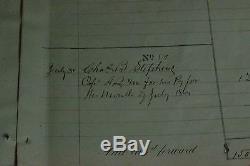 Civil War NY State Army Allotment- 5 checks/sheet, 3 sheets, registar & binder