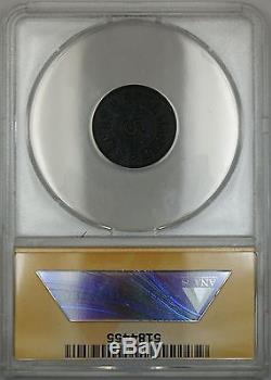 Civil War NY-Troy We Hagan Storecard Token 890D-1H ANACS AU-55 Details Scratched