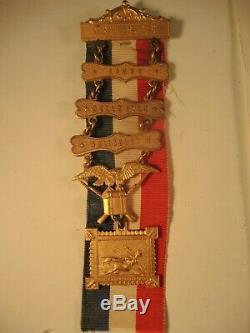 Civil War New York POW medal with 3 bars Libby, Belle Isle, Salisbury