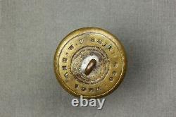 Civil War Overcoat Dragoon Button W. H. Smith & Co New York Bkmk