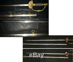 Civil War Presentation Sword & Scabbard Ridabock & Co. NY