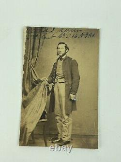 Civil War Soldier Identified David S Merrwin CDV Photo 16th N. Y. H. A