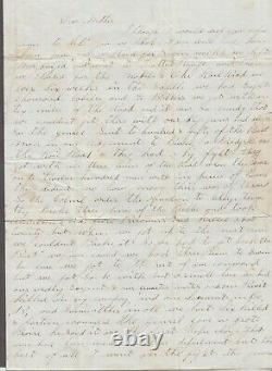 Civil War Soldier Ltr Marcus D Rice 2nd NY Vet Cav New Orleans (LA) Dec 22 1864
