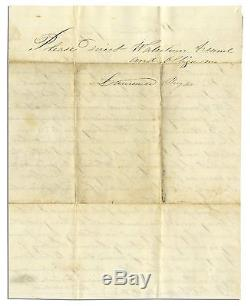 Civil War Union Soldier Autograph Letters Signed 63rd New York Infantry NY Ship