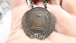 Civil War Veteran New York 1902 Dedication General Slocum Statue Medal