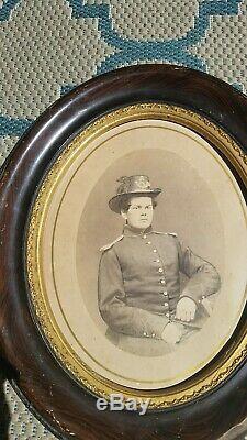 Civil War ided albumen 80th ny Infantry