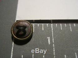 Civil WarIndependence Guard of New YorkUniform Cuff Brass Button-Scoville-Rare