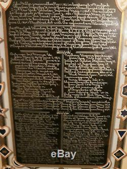 Civil war Memorial /Record soldier John Miller New York Vols framed