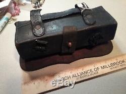 Civil war cartridge box HOOVER, CALHOUN & CO. / MAKERS / NEW YORK