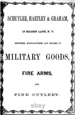 Collins Sword Civil War Marked 1862 SCHUYLER HARTLEY GRAHAM NEW YORK
