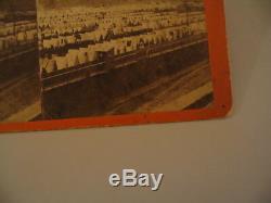 Confederate Prison Elmira New York Larkin Stereoview Photo cdii Civil War 13