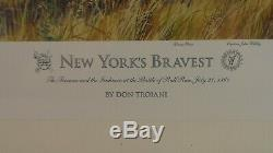Don Troiani New York's Bravest Print Signed & Numbered 562/1000 31 x 24
