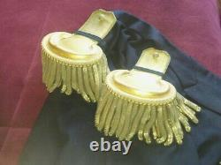 Epaulets US Army NY Buttons Likely Pre-1872 & Civil War for Major Fine Condition