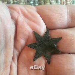 Exceptionally Rare 2nd New York Fire Zouave Corps-Style Badge Civil War Relic