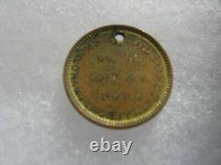 Extremely Rare CIVIL War Dogtag John Butler 50th Ny Engineers, Engineer Castle