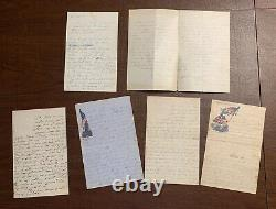 Four Letters Two Documents 43rd Infantry New York Civil War William Seabolt