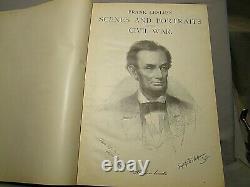Frank Leslie's Scenes & Portraits of Civil War 1894 wood engraving throughout