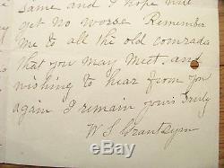 Gettysburg CIVIL War Veteran Hero Letter 140th New York Zouaves