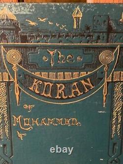 HTF 1881 George Sale Koran Islam Muslim Owned Congressman CivilWar General Wisco