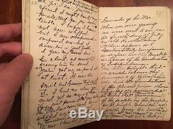 Handwritten Civil War Union Officer's Reminiscences, New York 44th Vol Infantry