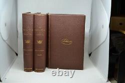 History of American Civil War 3 Volumes John Draper NY Harper & Bros 1867
