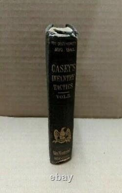 INFANTRY TACTICS VOL 2 BATTALION Silas Casey 1862 HC free S/H Civil War