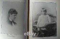 JEFFERSON DAVIS 1890 HC/1st Ed. Varina Davis Civil War Illustrated Complete Set