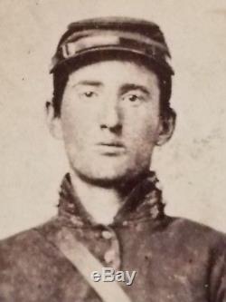 Killer Unknown Union Civil War Soldier Utica NY CDV Image