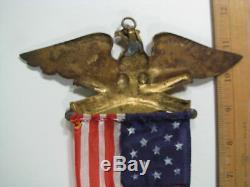 LARGE 12 GAR Civil War Vet Membership Medal Badge 45th Encampment New York