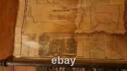 LARGE Pre-Civil War Orange Rockland County WALL Map