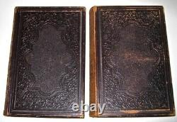 LEATHER SetCIVIL WAR! United States Lincoln Grant(FIRST EDITION! 1863)RARE! GIFT