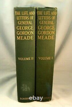 Life and Letters of GEORGE GORDON MEADE First edition 1913 Two Volumes Civil War