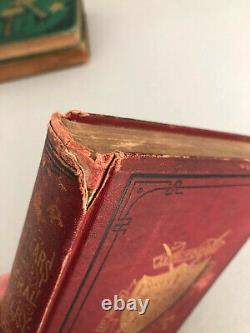 Lot of 6 Civil War Novels 1866 to 1898 Hardcover LAST REDUCTION IN PRICE