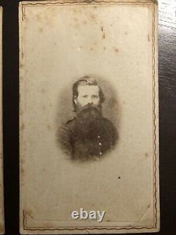 Lot of Eight Civil War Soldier CDV (PA, Maine, MA, NY)