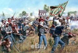 MINT COND. CANVAS Don Troiani -New York's Bravest CIVIL WAR LMT ED
