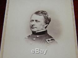 Mathew Brady CDV Civil War Major General Joseph Hooker New York