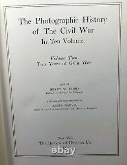 Miller's Photographic History of the Civil War 10 Volumes 1911 Military Book Set
