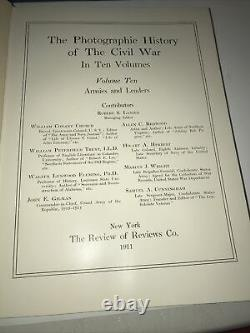 Millers Photographic History Of The Civil War In 10 Volumes 1911 Military
