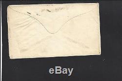 Modena New York Cover 1864, #65 Pen Manuscript Cl, CIVIL War Patriotic Howells