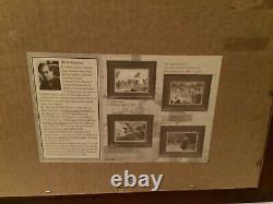 Mort Kunstler(1931-)Artist, NY, 2 Civil War Lithograph Prints, Framed, Signed