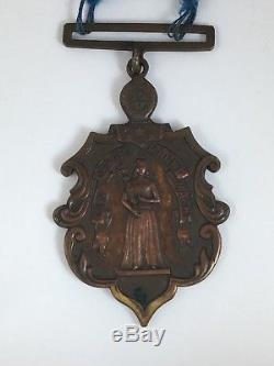 Most Complete Ever Original Brooklyn NY Civil War Service Medal with Ribbon & Pin