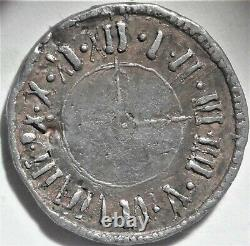 New York City J. Schork Civil War Store Card Token NY 630BL-1g R. 8 Clock
