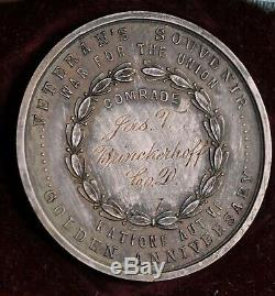 New York Civil War Medal 83rd Vols. Discharged