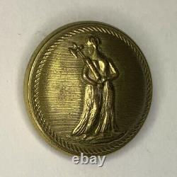 New York Tompkins Blues Civil War Coat Button