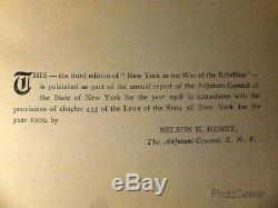 New York in the War of the Rebellion (Civil War)complete in 6 Vol 1912 Phisterer