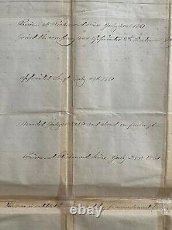ORIGINAL CIVIL WAR 82nd NEW YORK VOLUNTEER INFANTRY REGIMENT MUSTER ROLL c1861